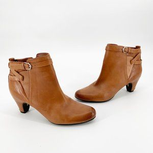 Sam Edelman Maddox Ankle Bootie Burnished Leather